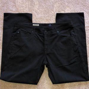 Men's AG Black Designer Jeans - 36x34